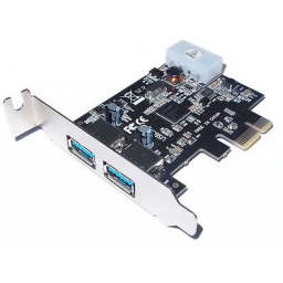 StarTech 2 port Interne usb PCI-E <br> (Low Profile)
