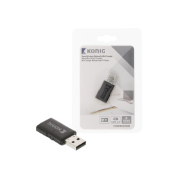 Konig N300 Wireless Network Mini Dongle USB 2.0